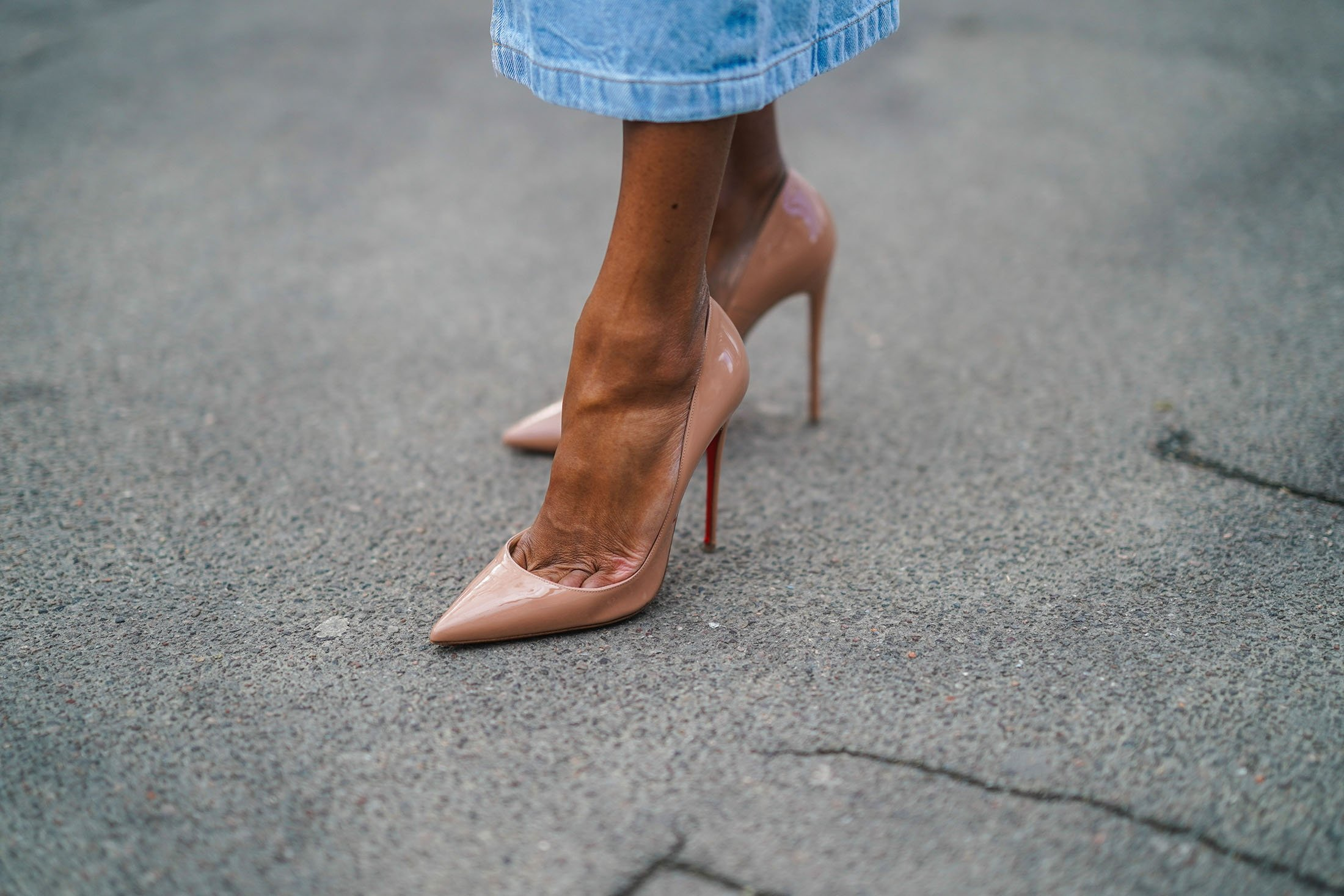 Pointy Louboutin pumps are coveted but also criticized for being the 'most painful shoes' on the planet. (Getty Images)