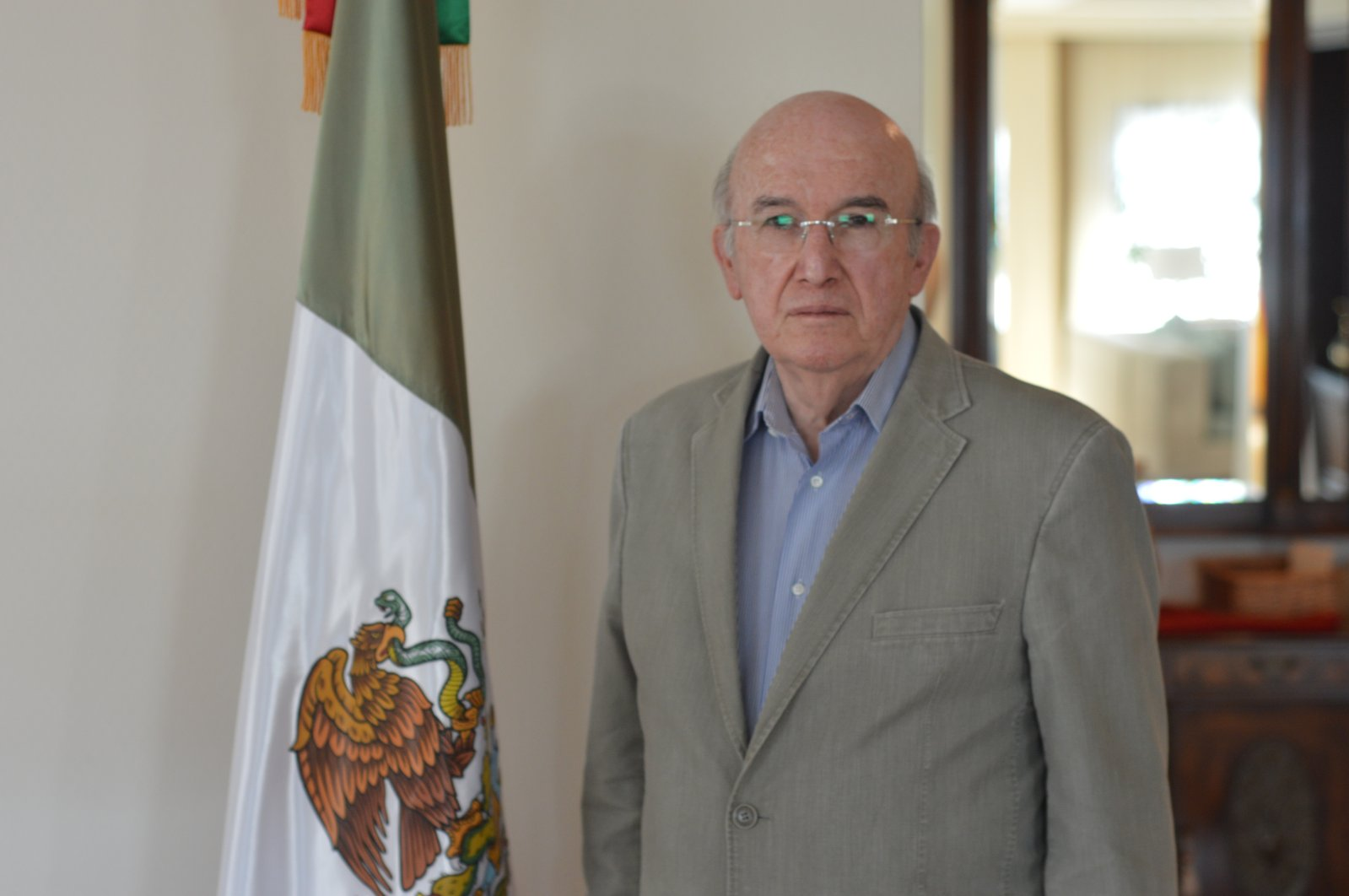 Mexico's Ambassador to Turkey Jose Luis Martinez y Hernandez is seen in this photo provided by the embassy. (Courtesy of the Mexican embassy in Ankara)