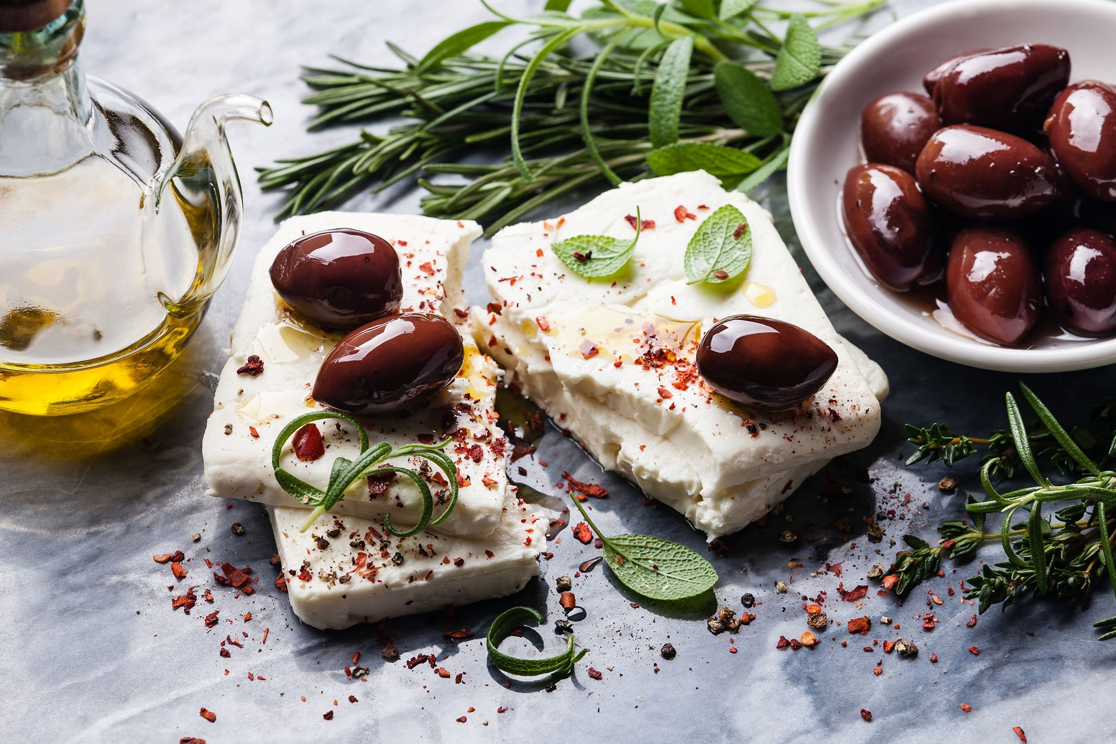 Olives are an indispensable part of breakfast, lunch and even dinner tables in Mediterranean countries. (Shutterstock Photo)