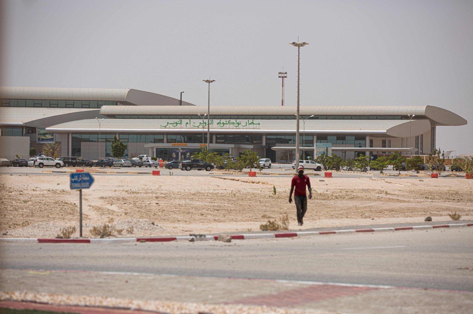 This general view shows the Nouakchott International Airport, Nouakchott, Mauritania, March 25, 2021. (AFP Photo)