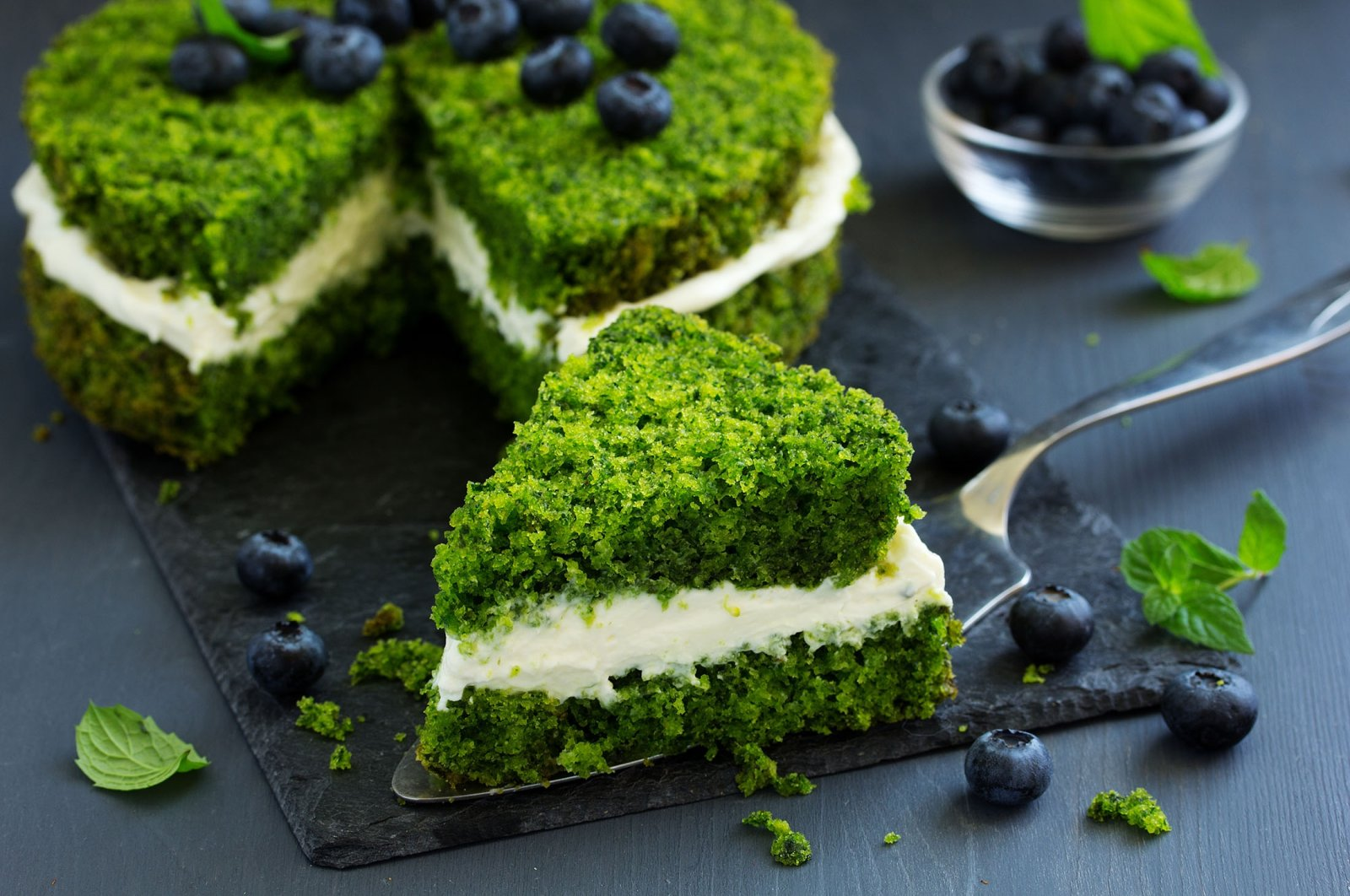 Although spinach may sound like an odd ingredient in a dessert, you'll be pleasantly surprised. (Shutterstock Photo)