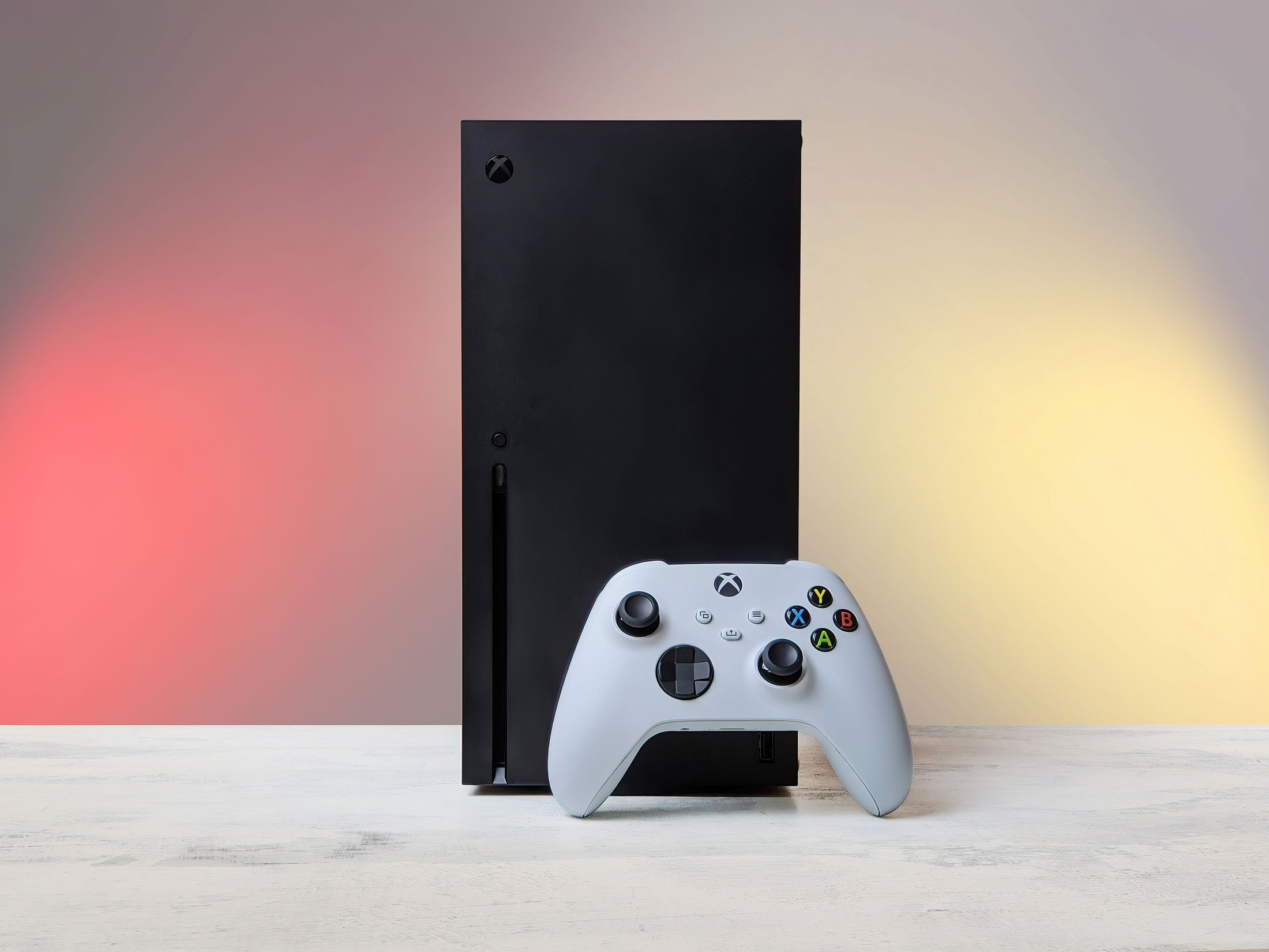 A Microsoft Xbox Series X console and controller seen in Moscow, Russia, Nov. 5, 2020. (Shutterstock Photo)
