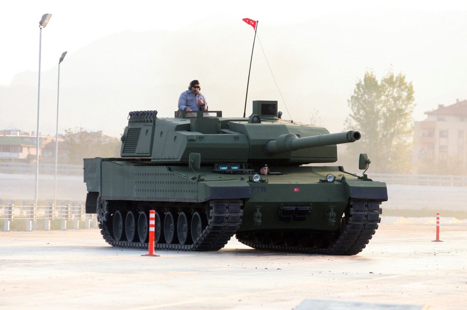 Turkey's main battle tank Altay seen in this file photo, Nov. 15, 2012. (Photo by Mesut Er)