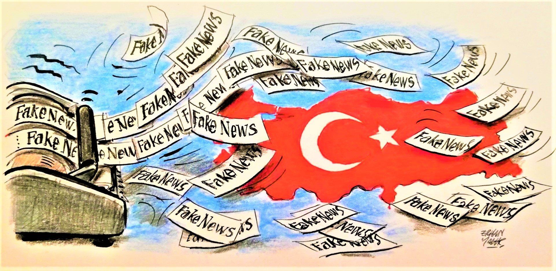 9 a.m. – which lie can I spread about Turkey today?