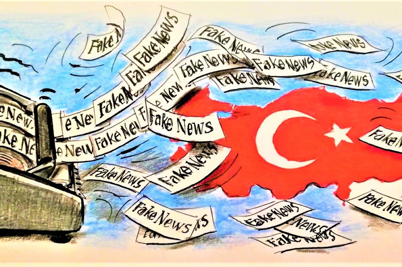 An illustration by Erhan Yalvaç