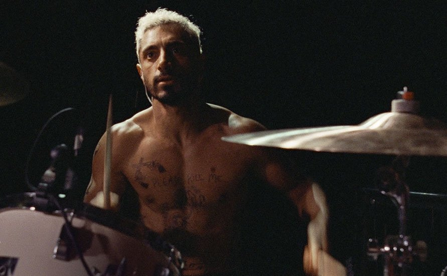 """Riz Ahmed as Ruben in a still shot from """"Sound of Metal."""""""