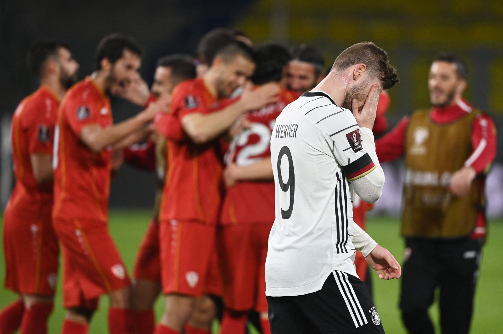 N. Macedonia hands Germany 1st World Cup qualifier loss in 20 years