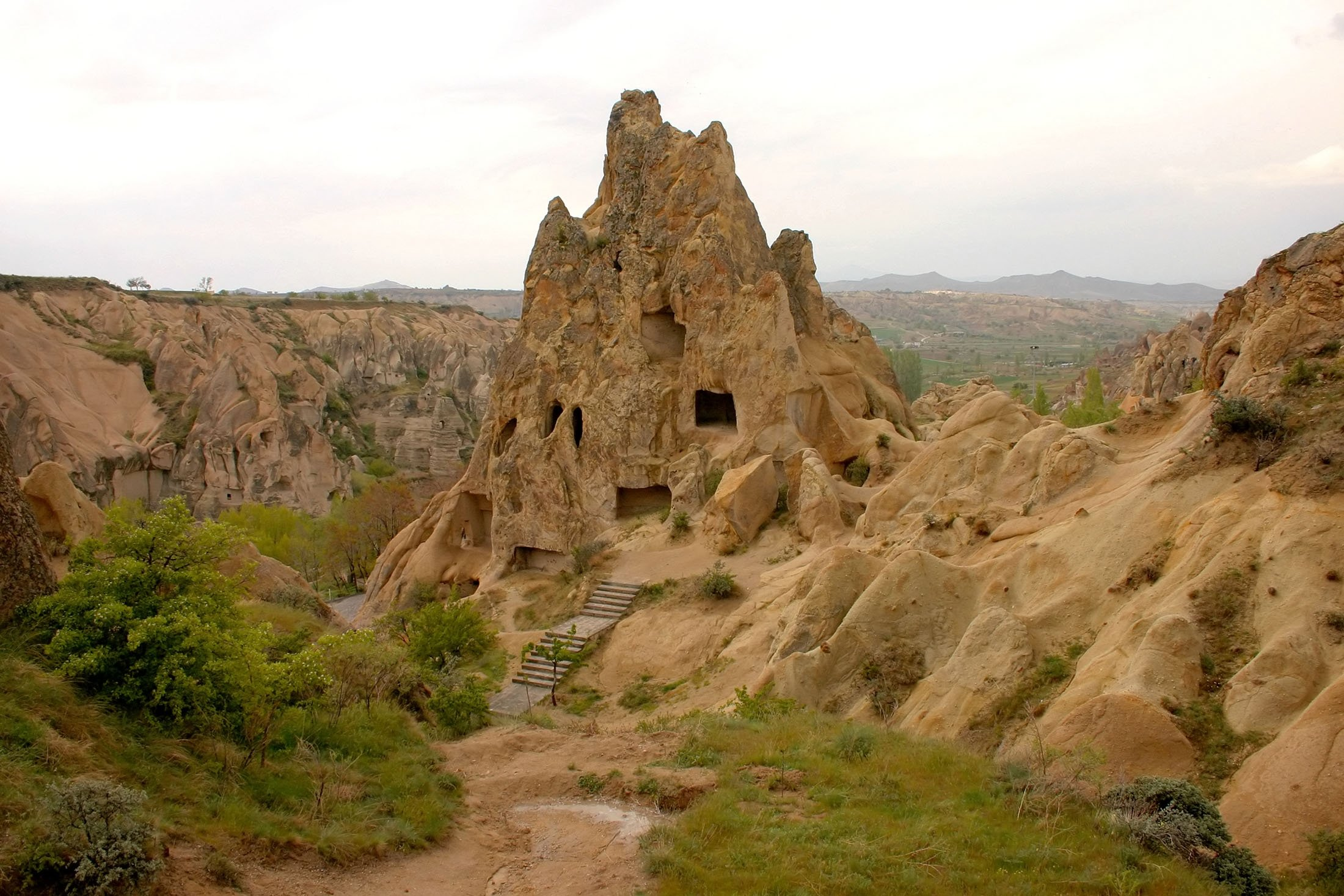 Ancient sanctuaries and settlements used by Christians in Cappadocia. (Shutterstock Photo)