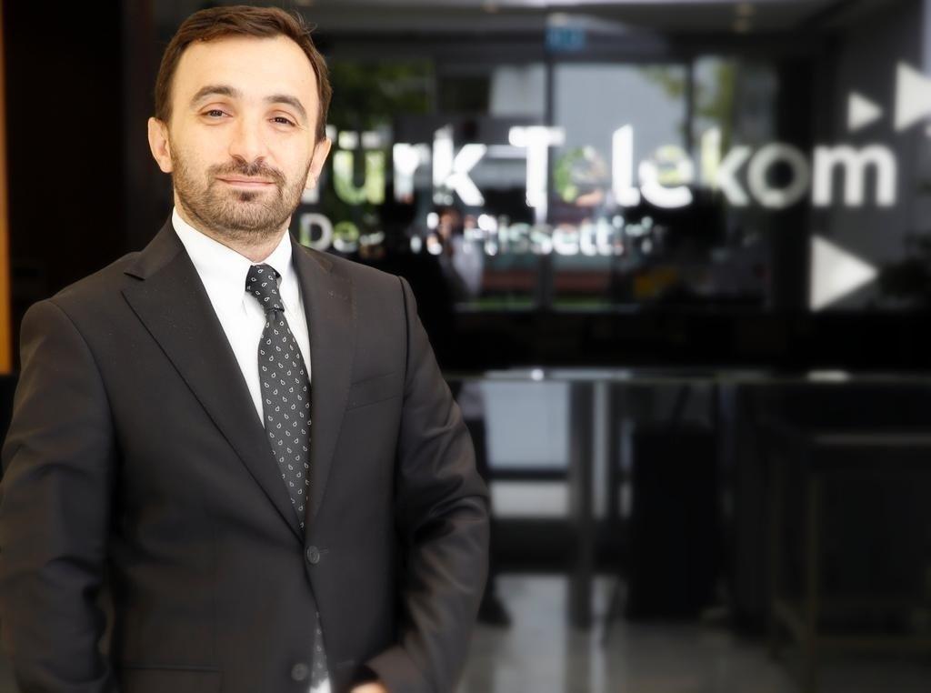 Fatih Türkoğlu, the product and service management director of Türk Telekom. (Courtesy of Türk Telekom)