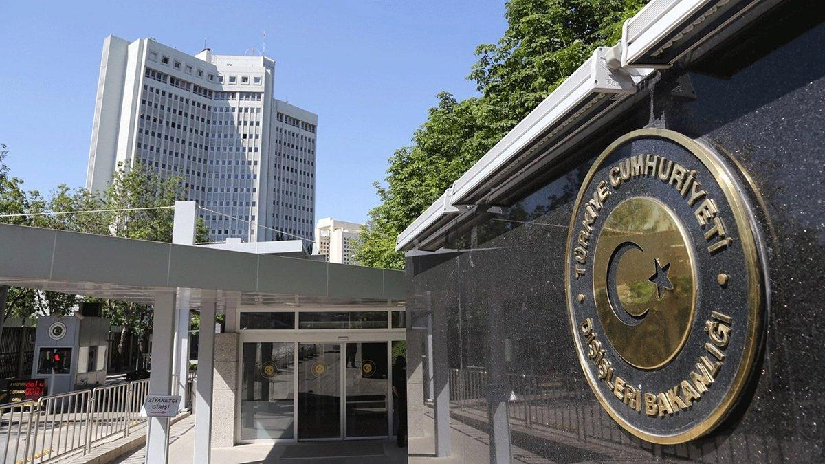Foreign Ministry headquarters in Turkey's capital Ankara. (File Photo)