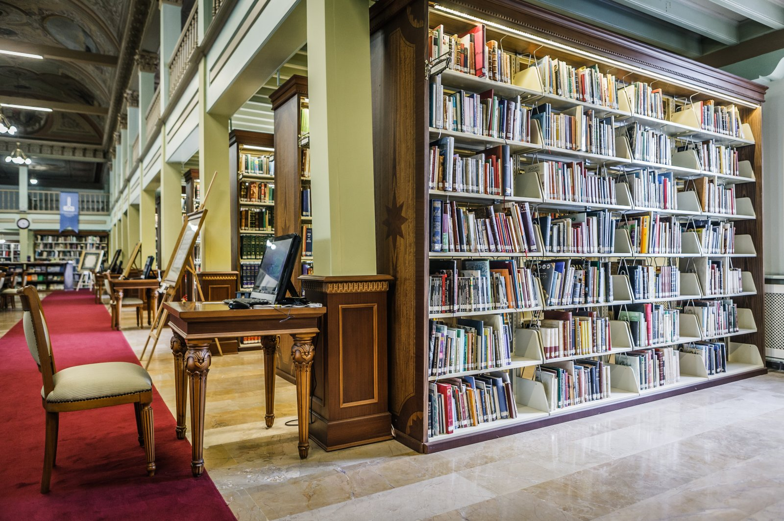IRCICA's Farabi Digital Library is among the few libraries that have optical character recognition (OCR) technology in Turkey. (Photo by RECAI KÖMÜR)