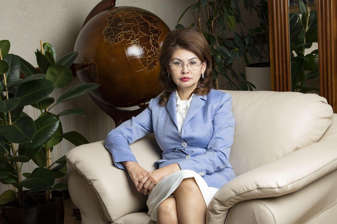 Kazakh minister Aida Balayeva in Nur Sultan, Kazakhstan, April 4, 2021 (AA Photo)