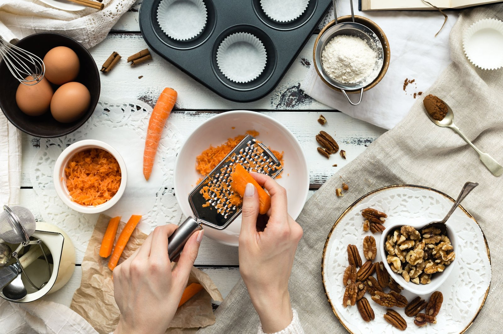 Carrots make a great addition to cakes, muffins and date energy balls. (Shutterstock Photo)