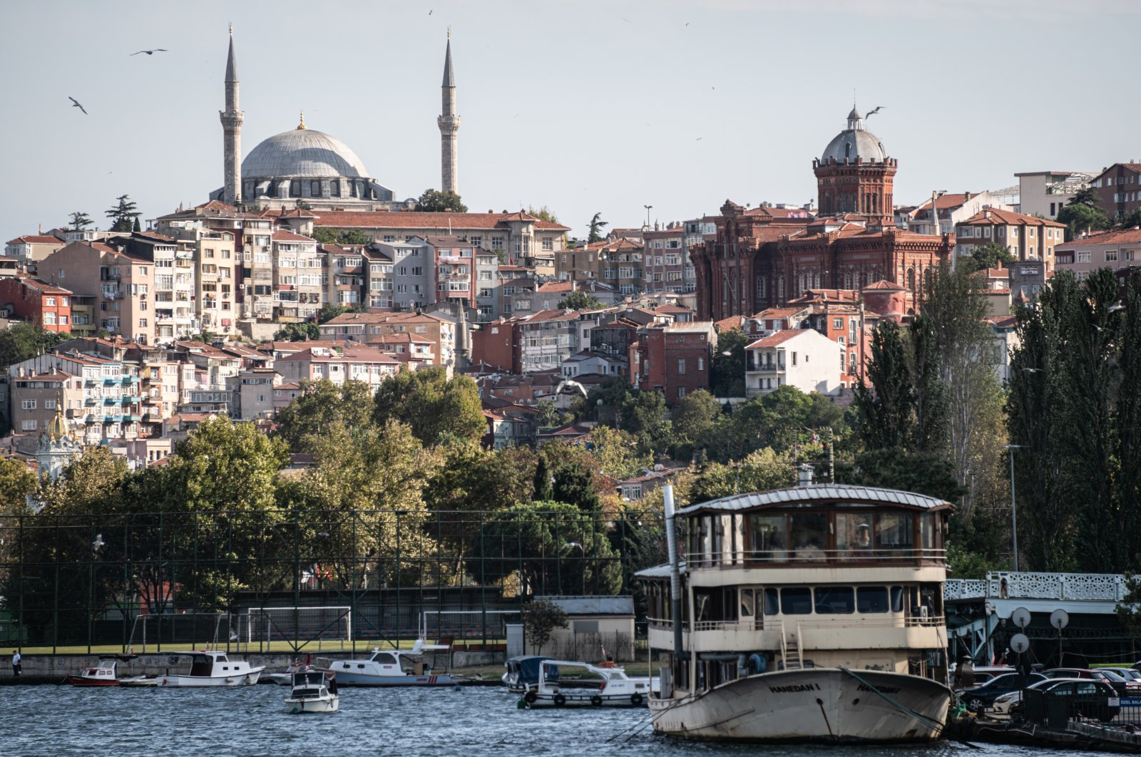 A neighborhood amid the coronavirus pandemic in the historical Eyüp district, Istanbul, Turkey, Sept. 19, 2020. (Photo by Getty Images)