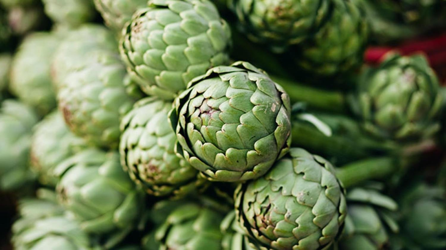 Fresh artichokes are a staple at bazaars and farmers markets in Turkey's Aegean region, and especially in Izmir and its Urla district. (Archive Photo)