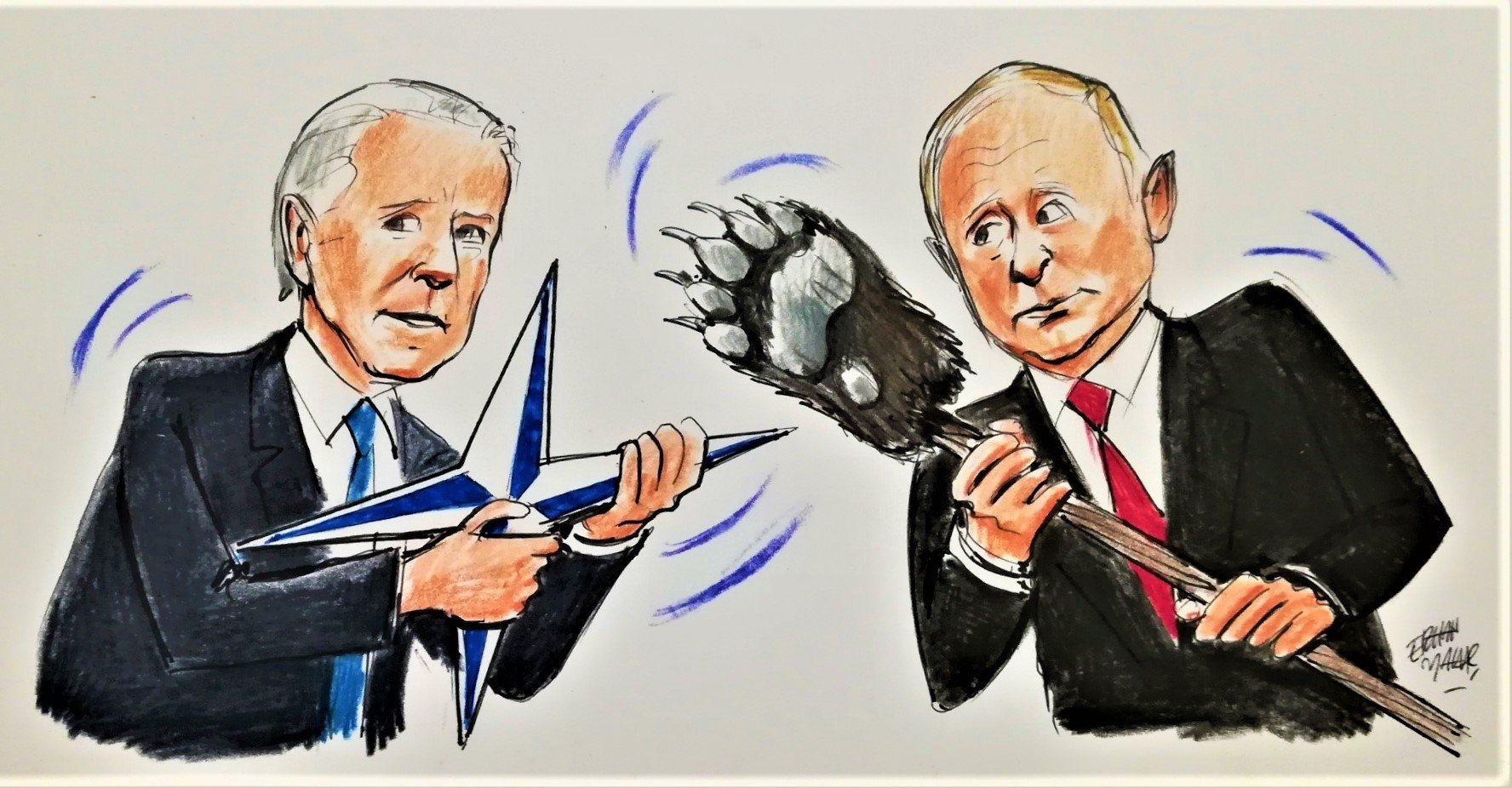 Donbass: The first round between Biden and Putin