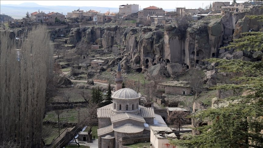 The Little Hagia Sophia in Aksaray, central Turkey, April 5, 2021. (AA Photo)