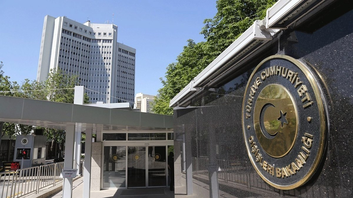 Foreign Ministry headquarters in the capital Ankara, Turkey. (File Photo)