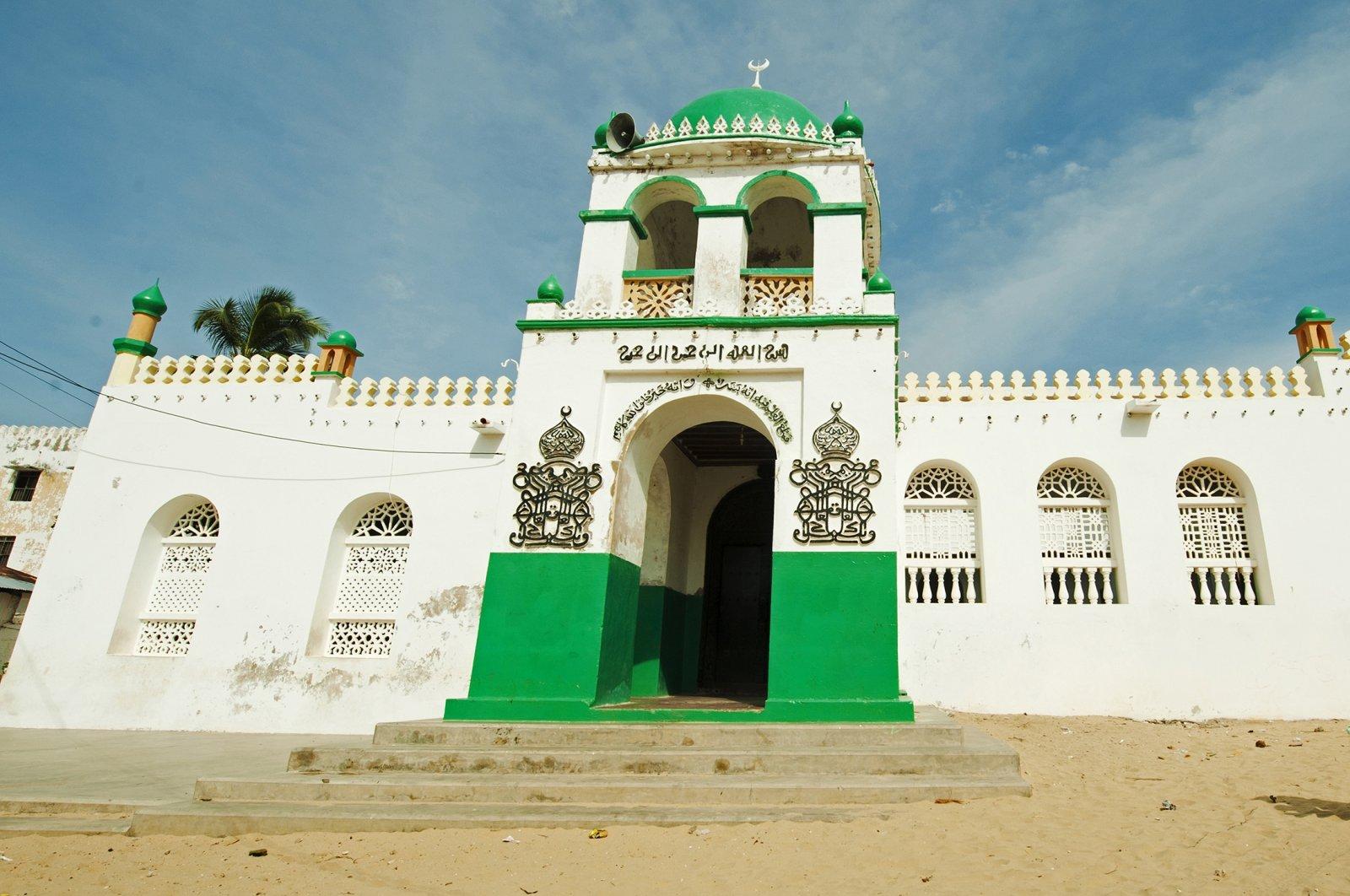 A look at the exterior of Riyadha Mosque in Lamu County, Lamu Town, Kenya. (Getty Images)
