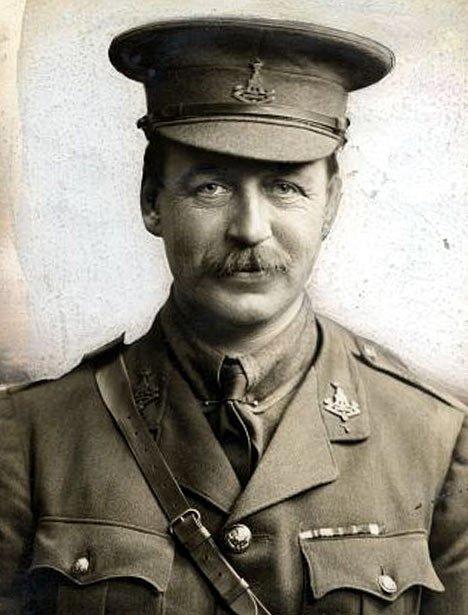 An old photo fo spy Mark Sykes.