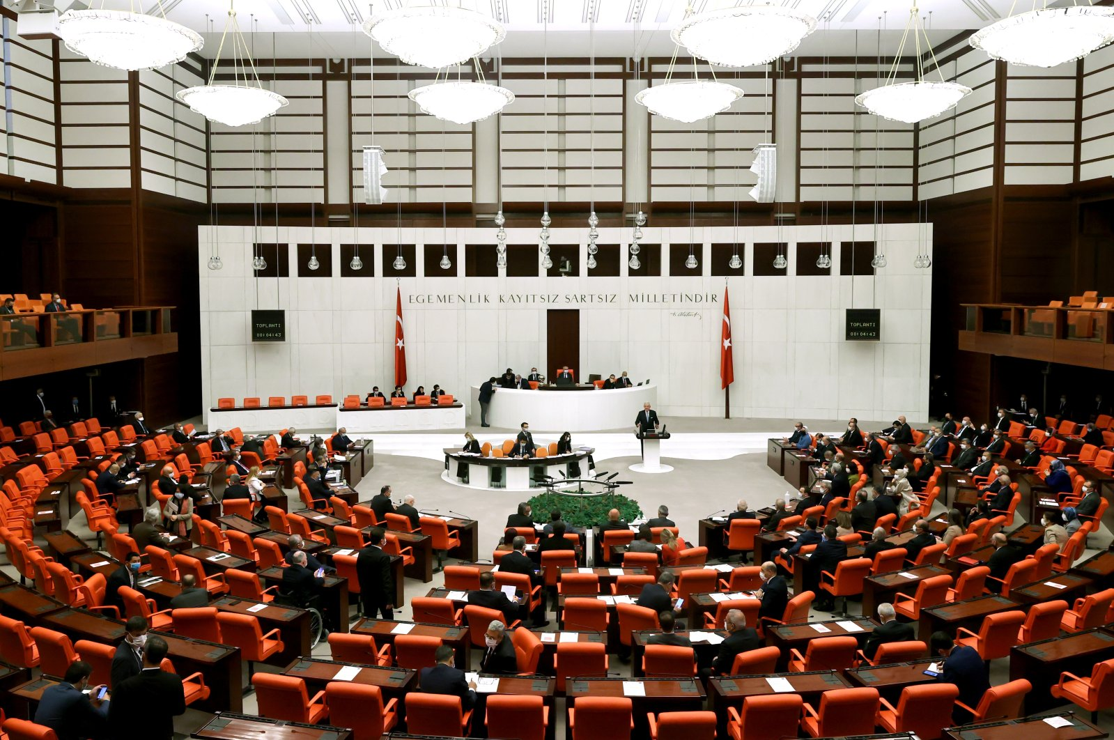 The General Assembly of the Turkish Parliament in Ankara, Turkey, April 6, 2021. (AA Photo)