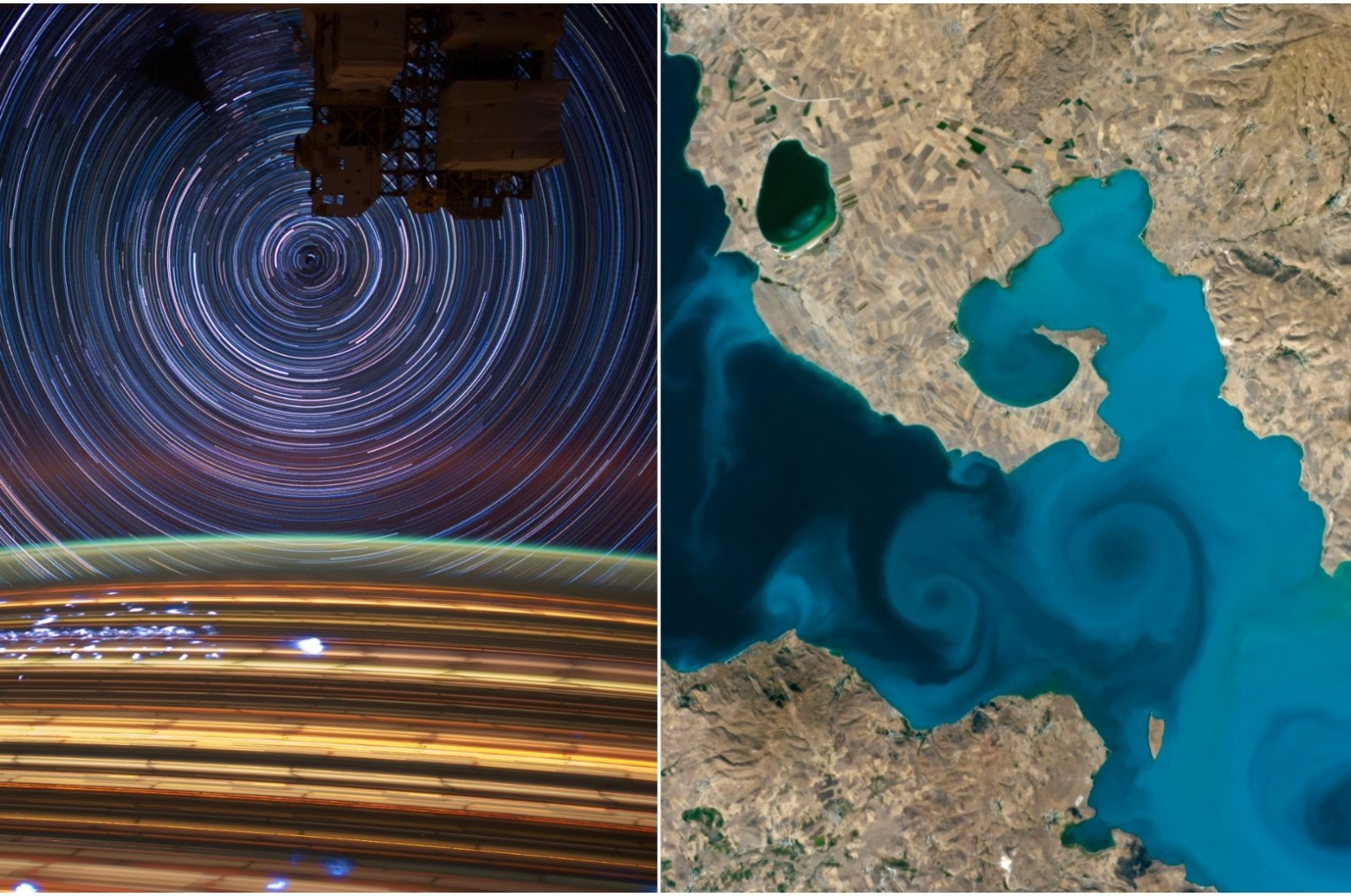 NASA's Tournament Earth is down to its two finalists. (NASA Photos)
