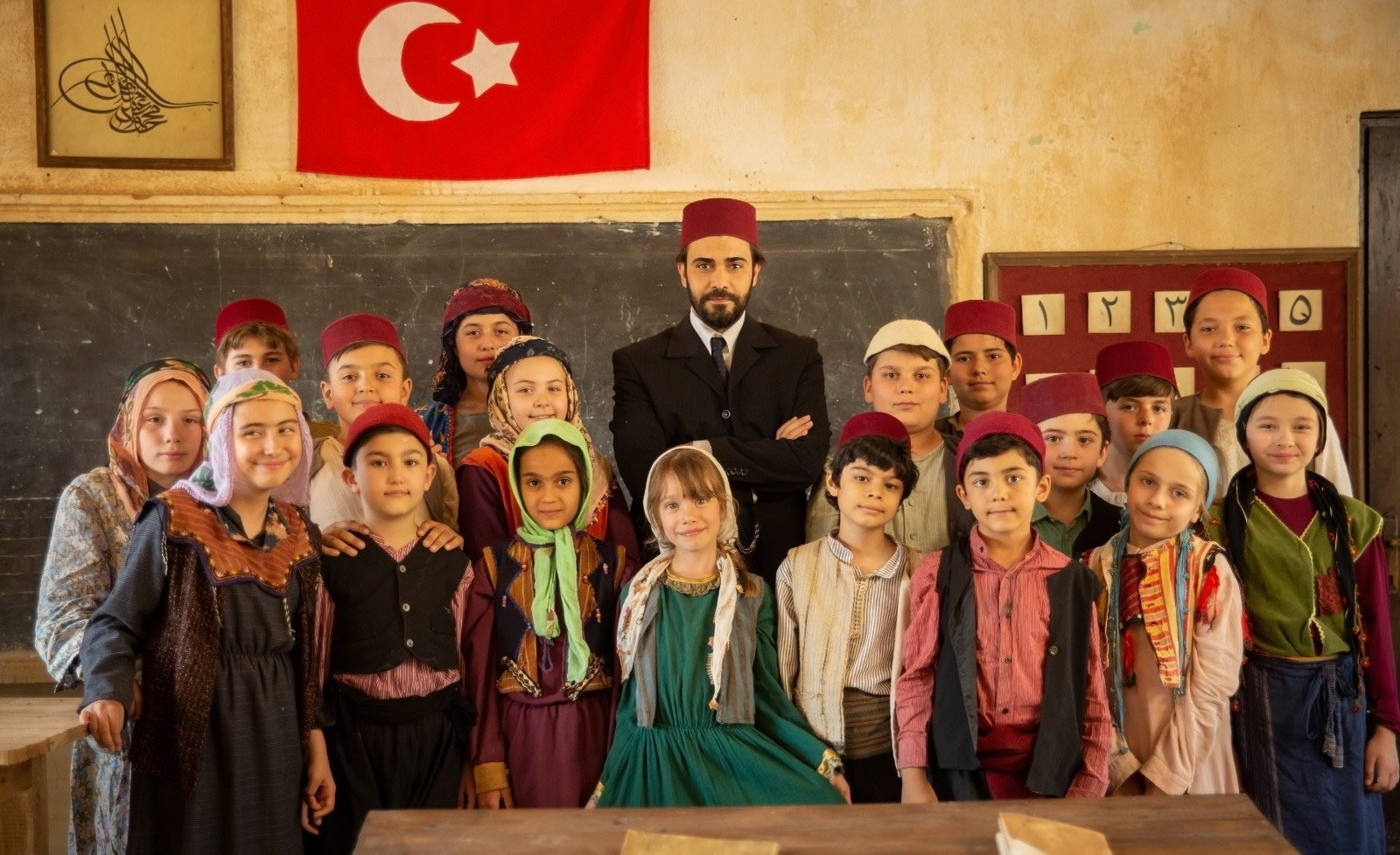 "A still shot from ""Muallim"" (""The Teacher"") by Müslim Şahin."