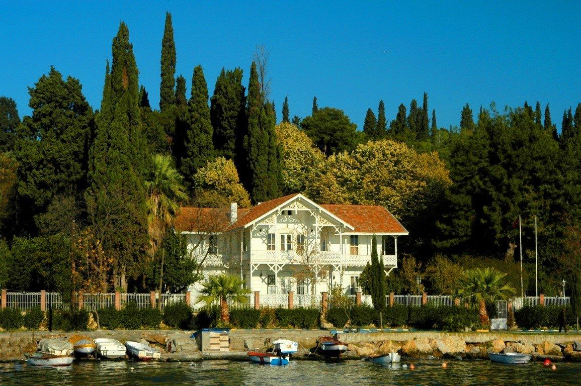 The Osman Hamdi Bey House and Museum, Kocaeli, northwestern Turkey, April 8, 2021. (AA Photo)