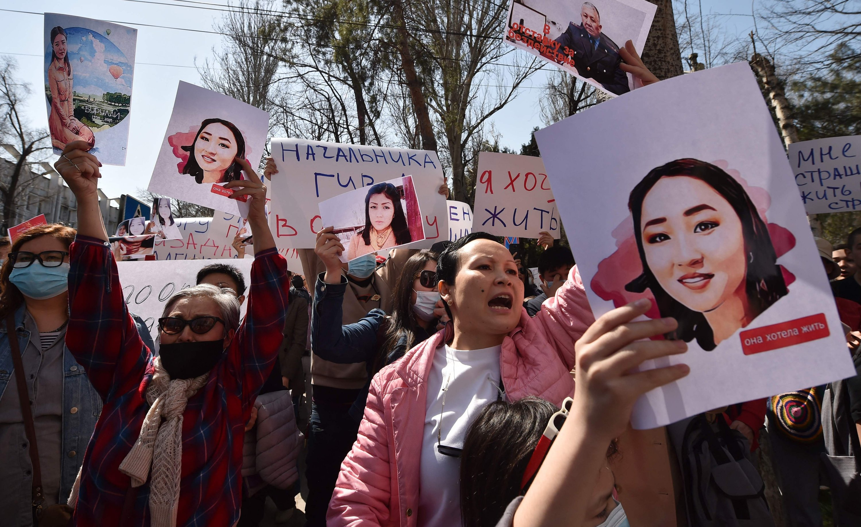 Bride kidnapping, murder of woman spark protests in Kyrgyzstan   Daily Sabah