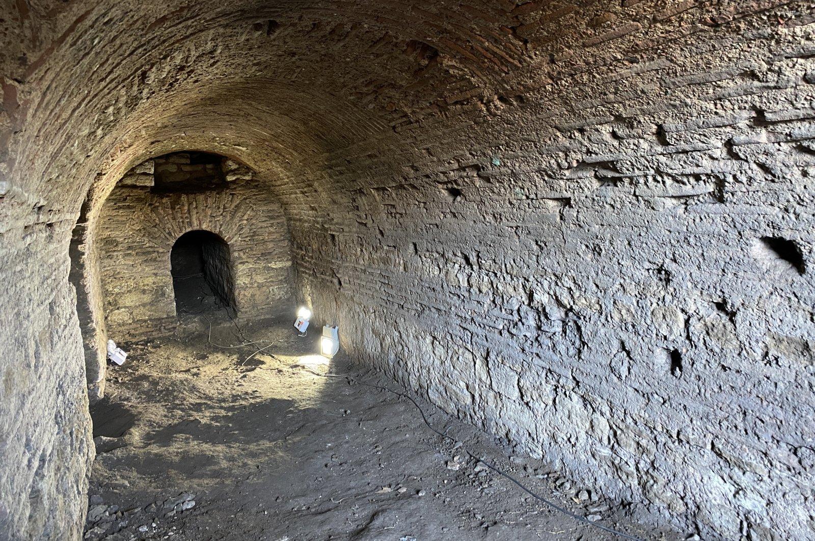 Roman-era gallery discovered beneath Istanbul's Topkapı Palace
