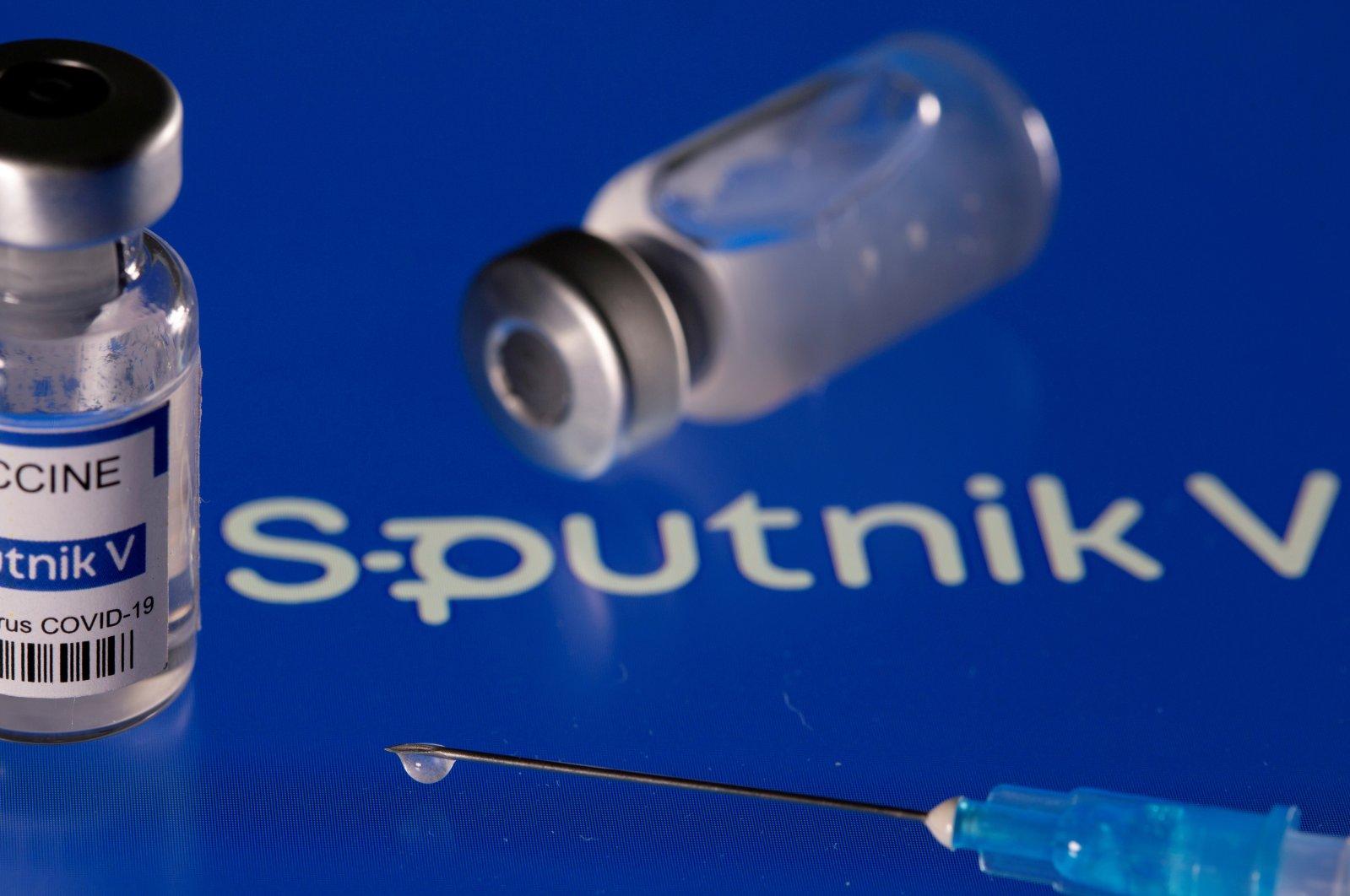 A file photo of the Sputnik V COVID-19 vaccine, March 24, 2021. (Reuters Photo)