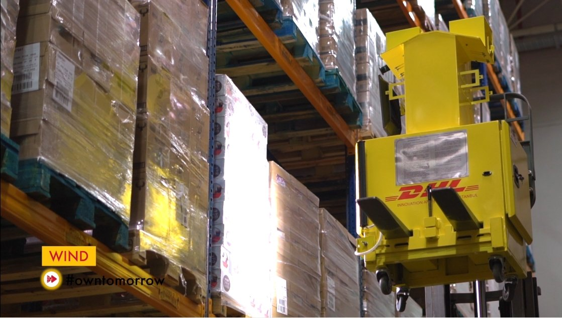 This photo shows the inside of a DHL Turkey warehouse. (Courtesy of DHL)
