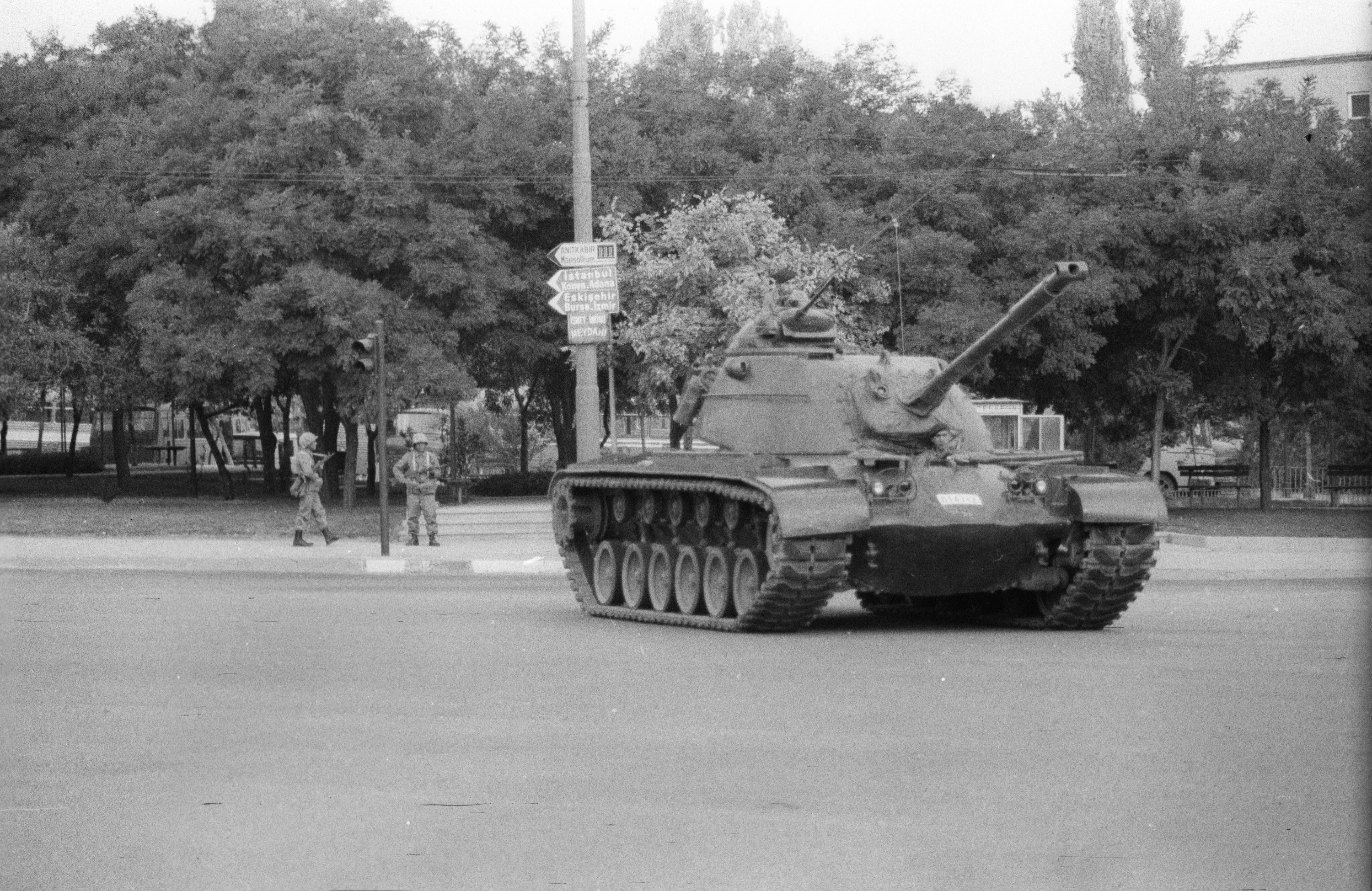 Sept. 12 marks the anniversary of one of the bloodiest coups in Turkey's history. The Turkish military seized power through 'Operation Flag,' which effectively shut down the government and Parliament. (AA File Photo)