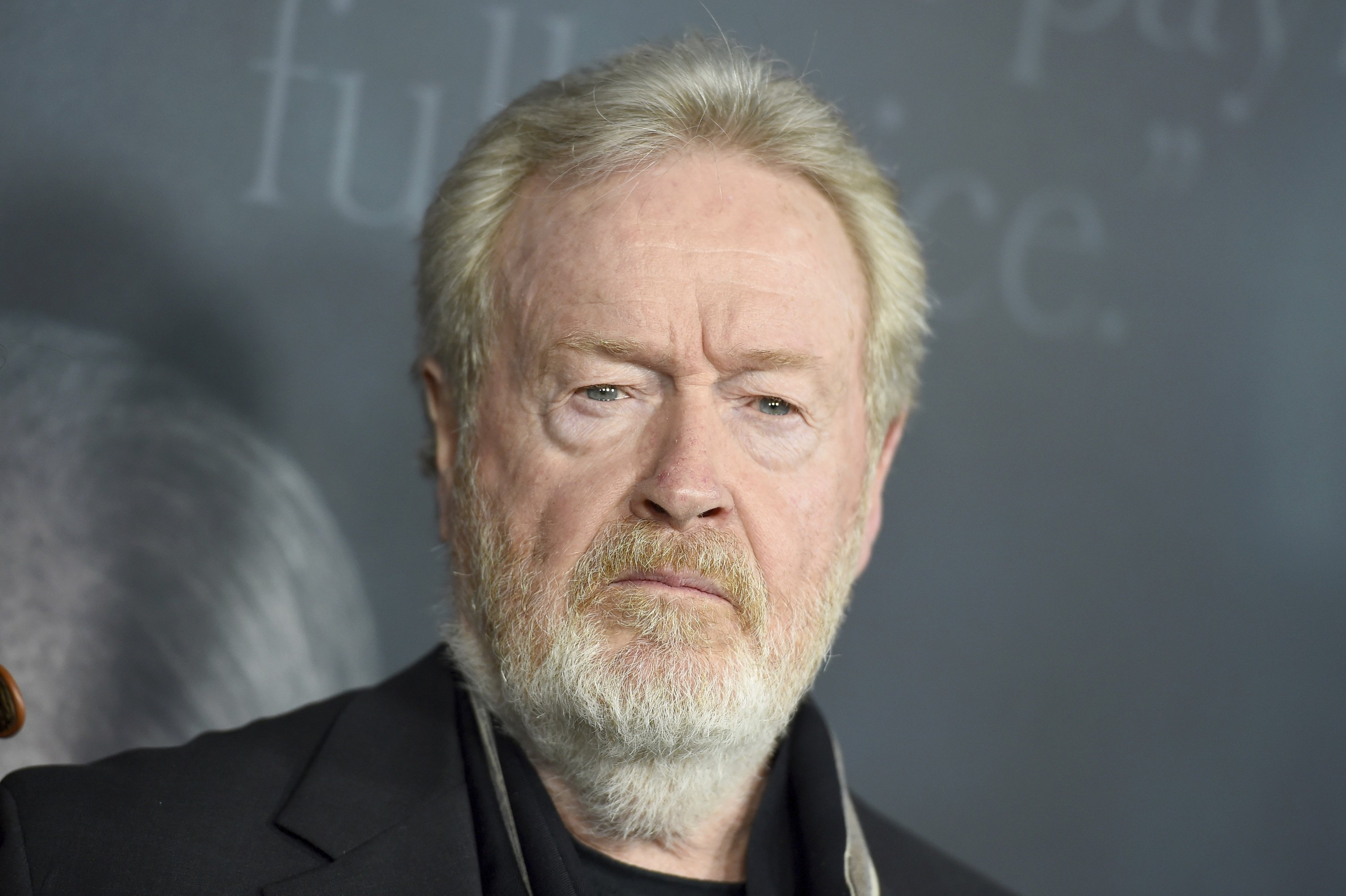 Director Ridley Scott attends the world premiere of 'All the Money in the World,' Beverly Hills, U.S., Dec. 18, 2017. (AP via Shutterstock)