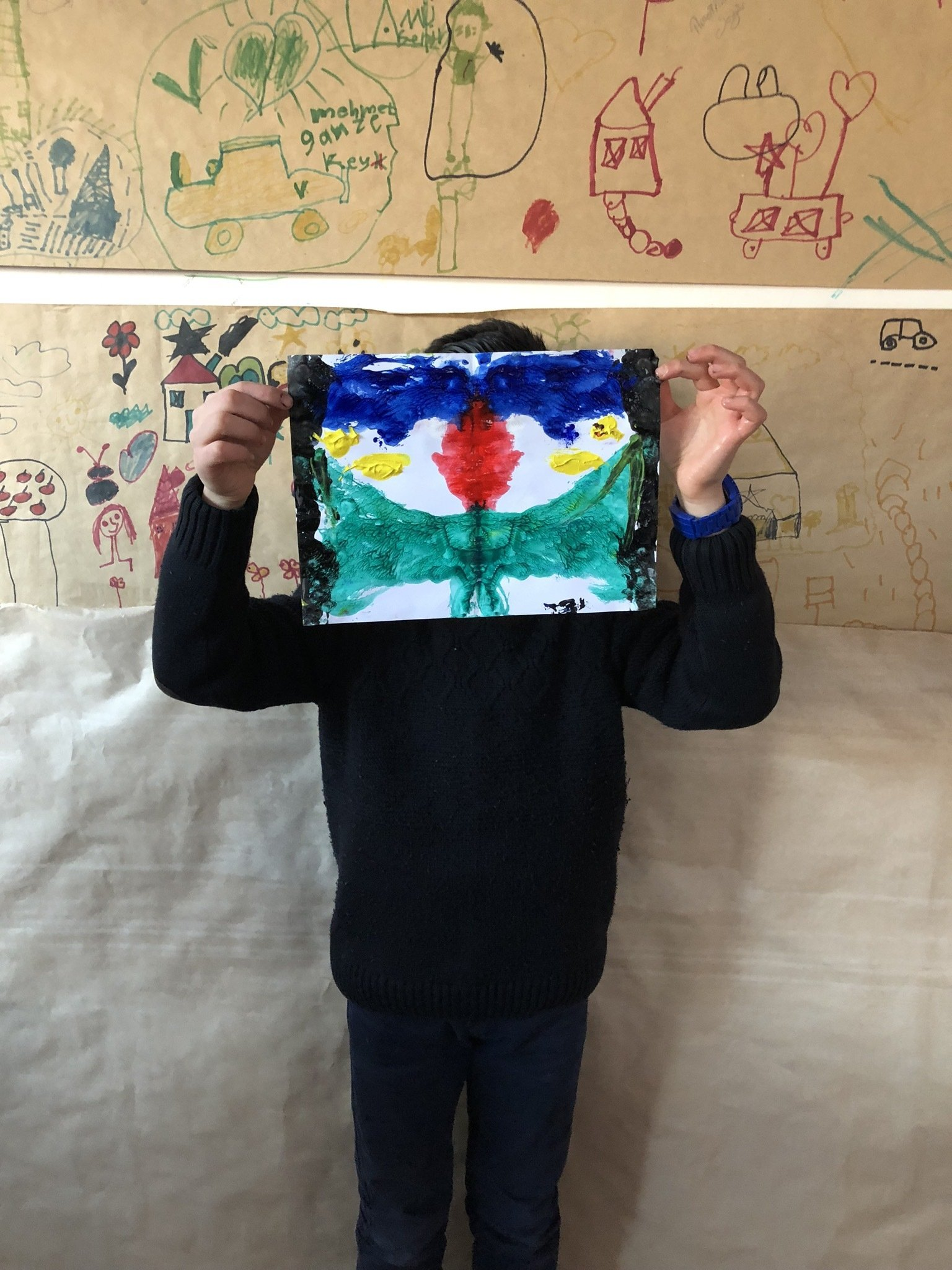 For the 'Rewild' collection, Incomplit held workshops with Syrian and Turkish kids. (Photo courtesy of Öykü Özgencil)