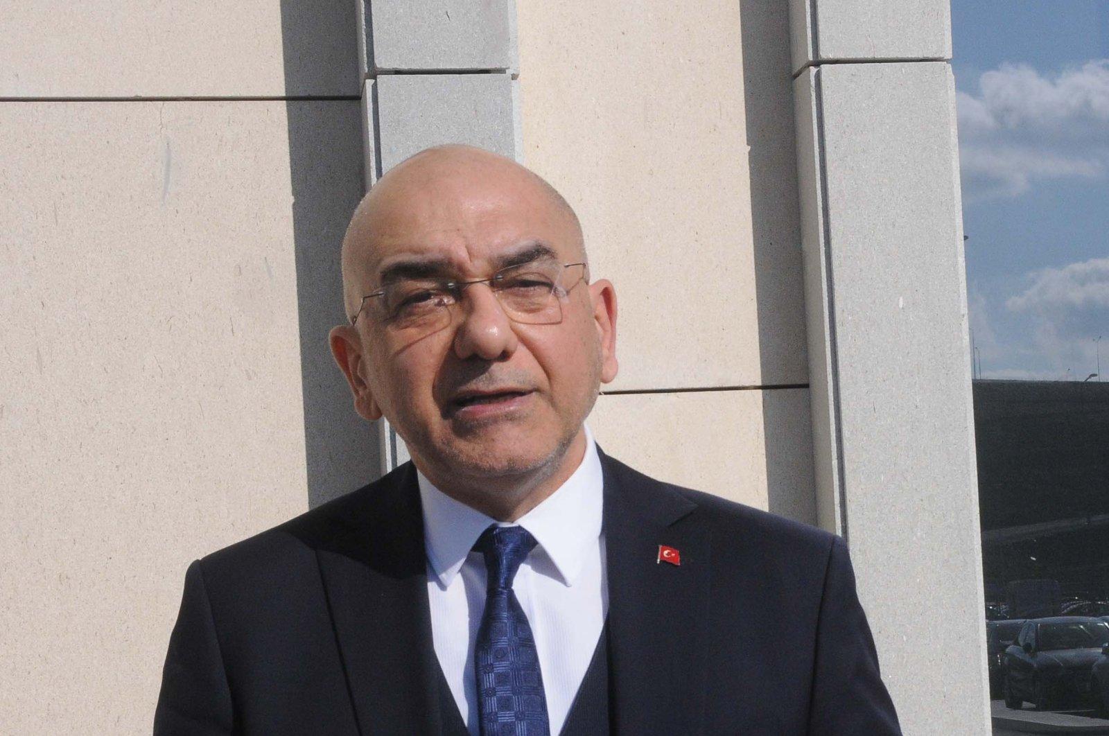 Ozan Ceyhun, Turkey's ambassador to Vienna, Feb. 27, 2020. (Sabah Photo)