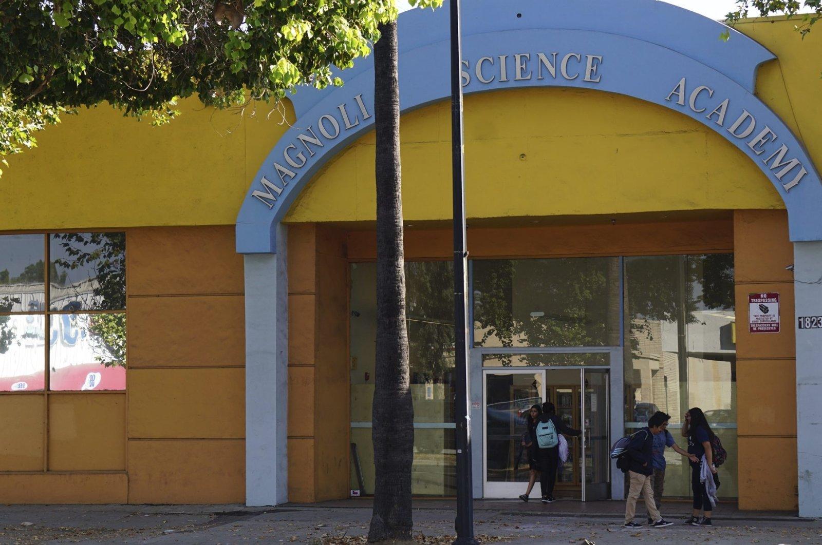 The FETÖ-linked Magnolia Science Academy in Los Angeles, California, U.S., Oct. 20, 2016. (AA Photo)