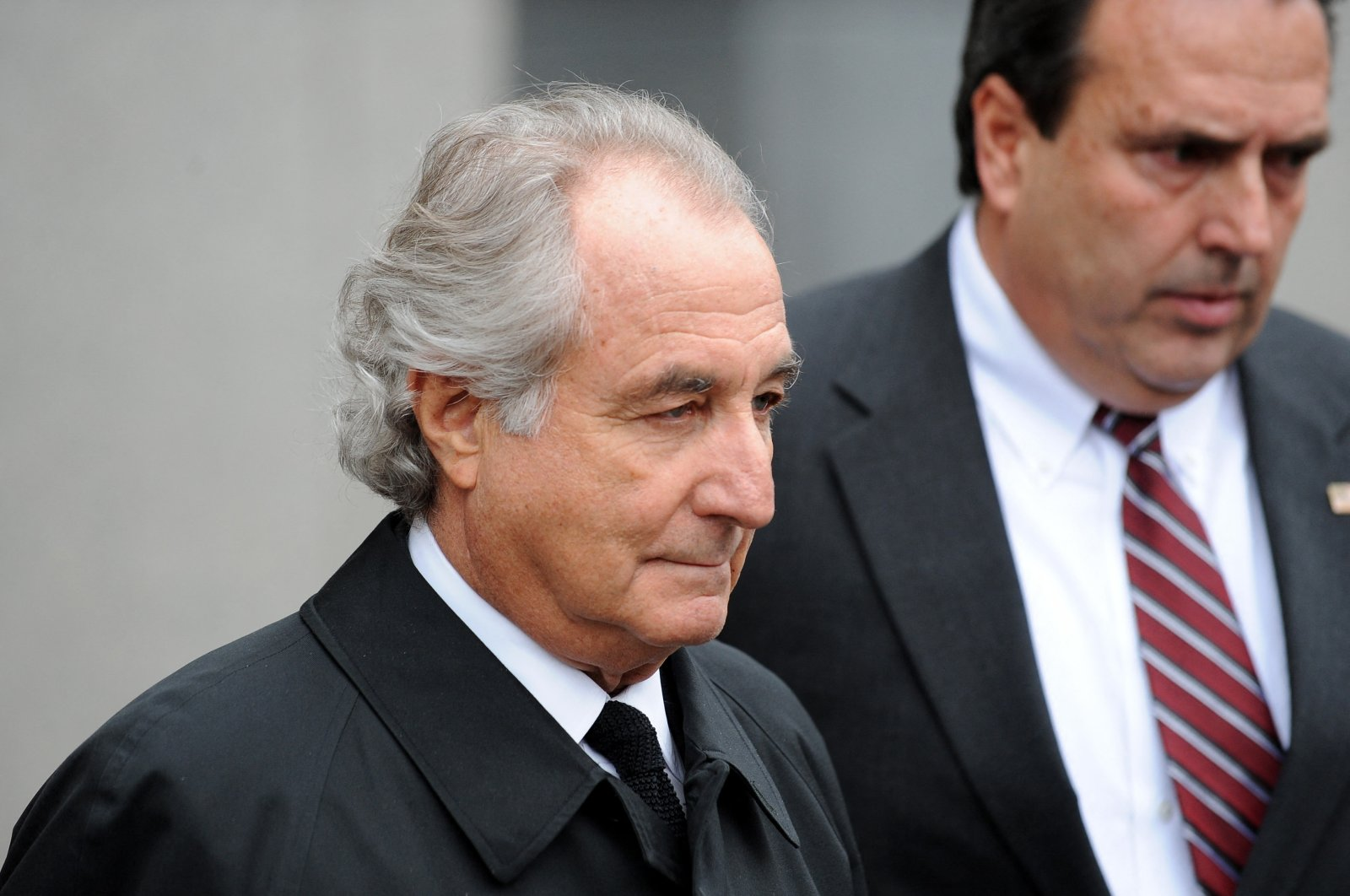Disgraced Wall Street financier Bernard Madoff leaves U.S. Federal Court in after a hearing, New York, U.S., on March 10, 2009. (AFP Photo)
