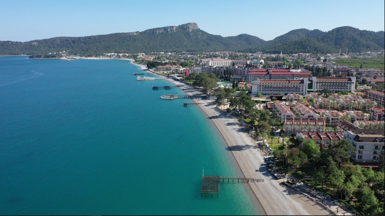 A view on Turkey's Antalya province on April 14, 2021. (IHA Photo)