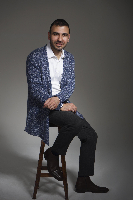 Multidisciplinary artist Ahmed Yajidar combines his engineering skills with a focus on design in his work.