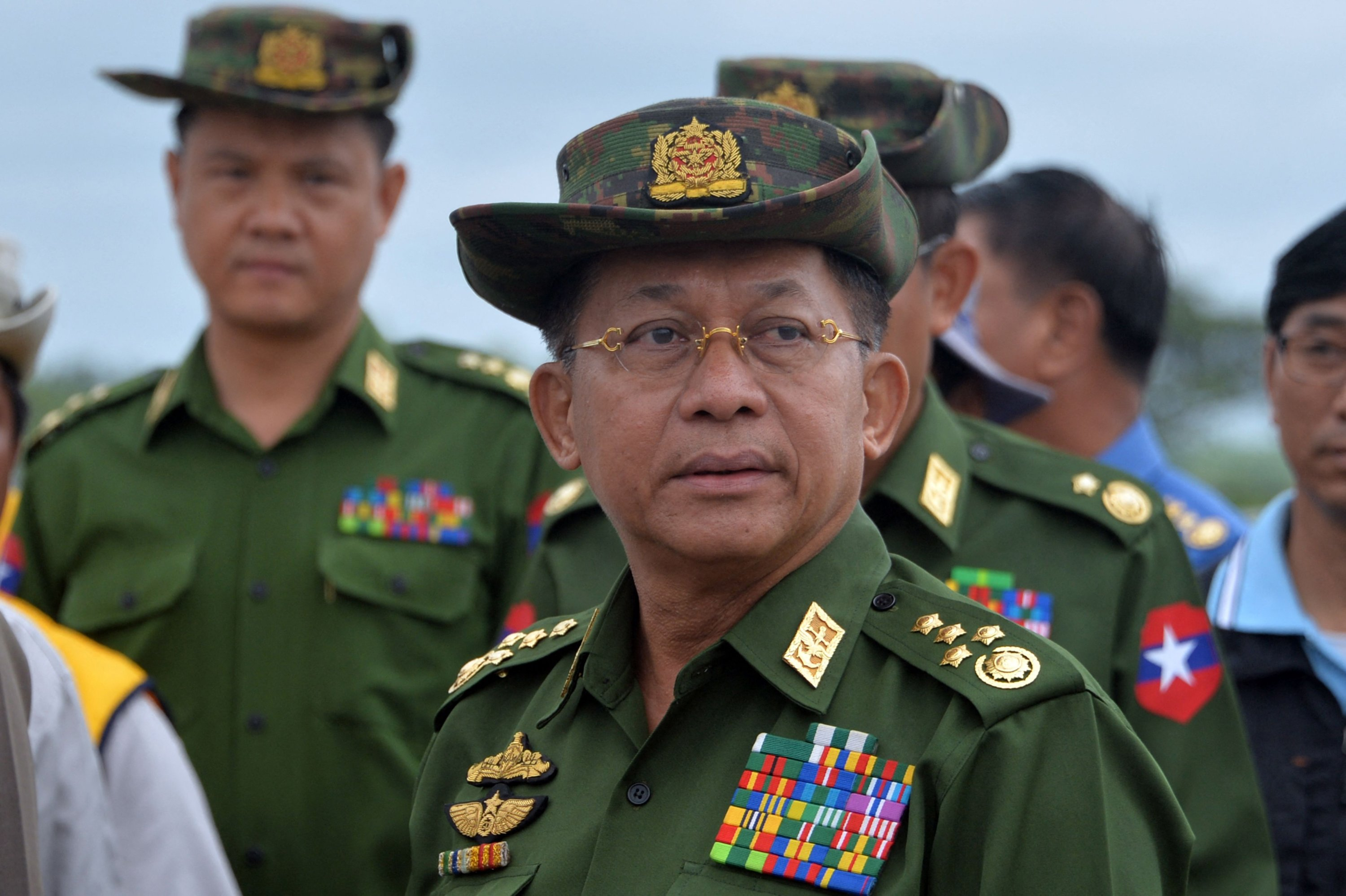 Myanmar junta chief to join ASEAN summit as first foreign trip | Daily Sabah