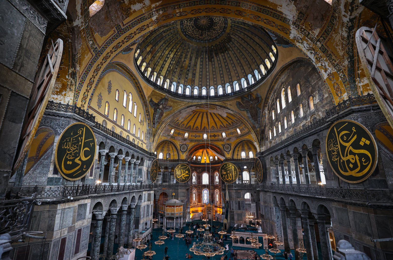 Restoration of Istanbul's Hagia Sophia sets example for world