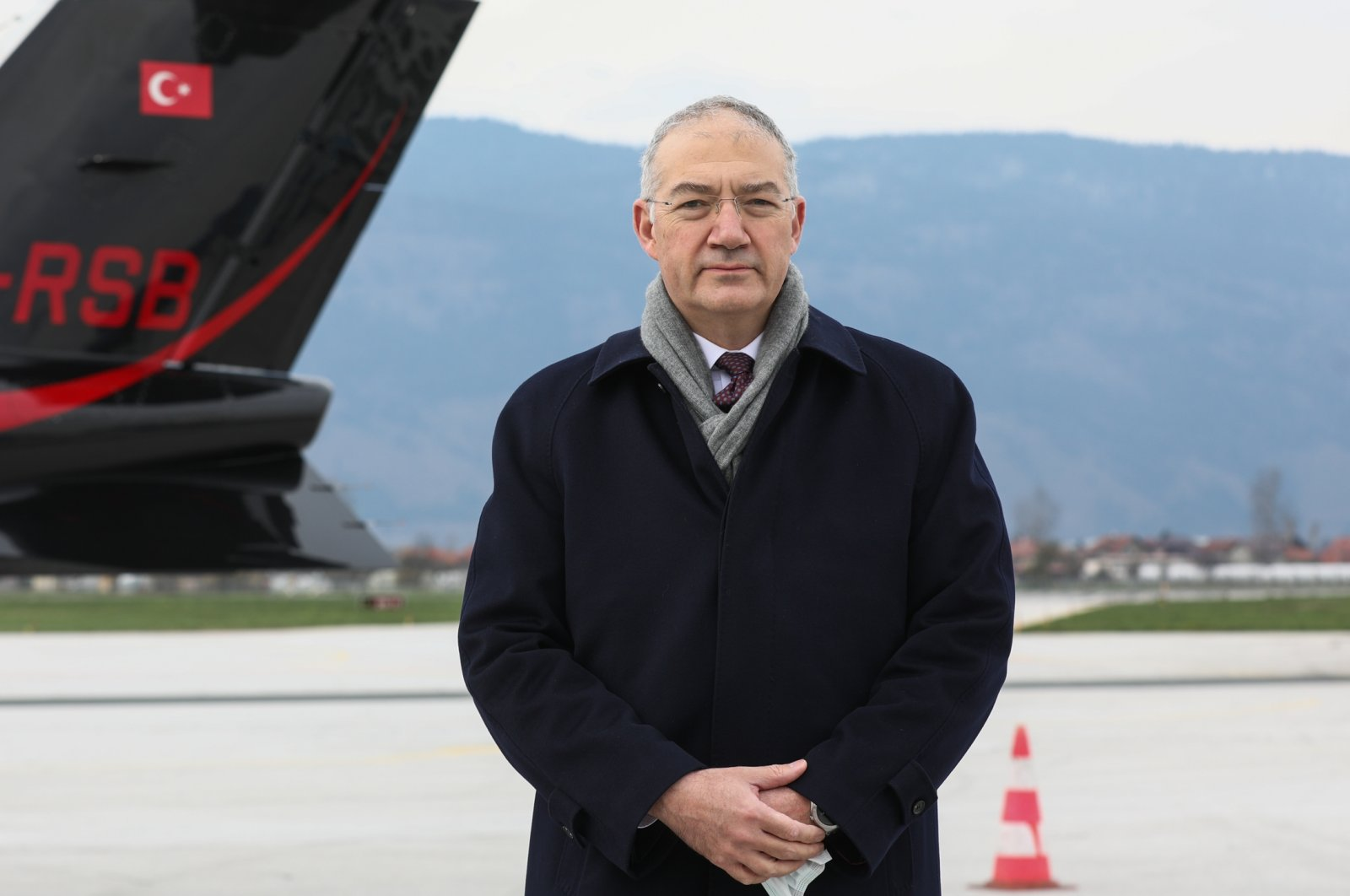 Turkey's ambassador to Bosnia-Herzegovina Sadık Babur Girgin speaks to Anadolu Agency (AA), April 18, 2021 (AA Photo)