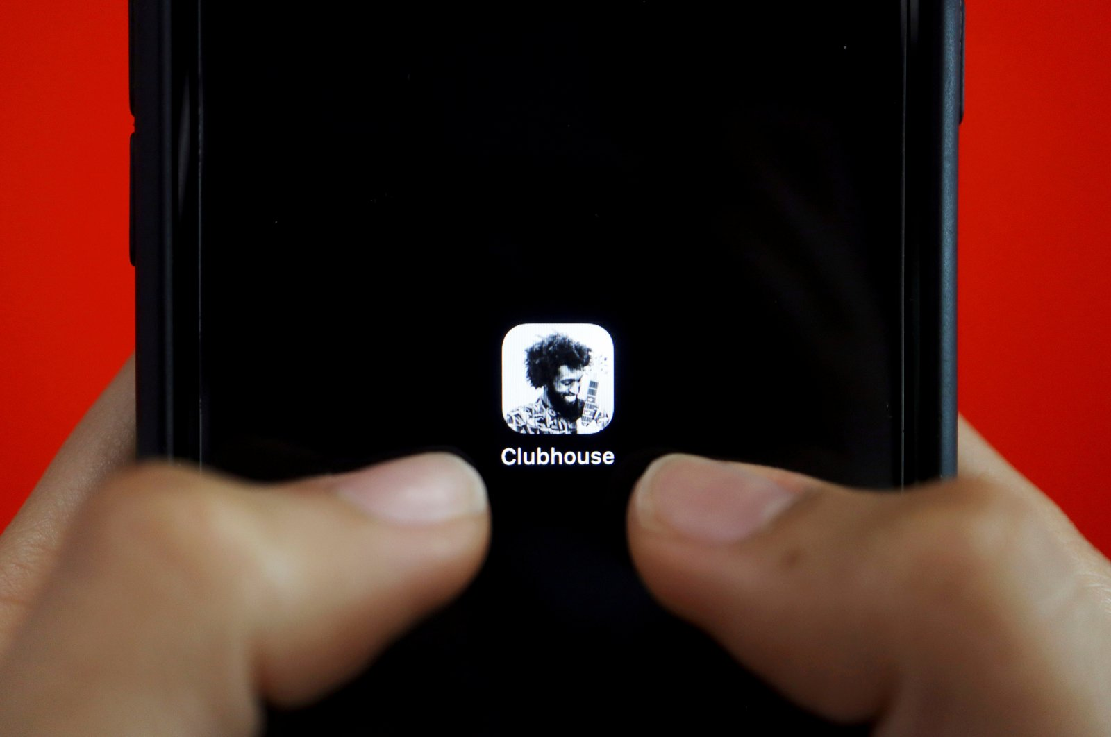 The social audio app Clubhouse is seen on a mobile phone in this illustration picture taken Feb. 8, 2021. (Reuters File Photo)