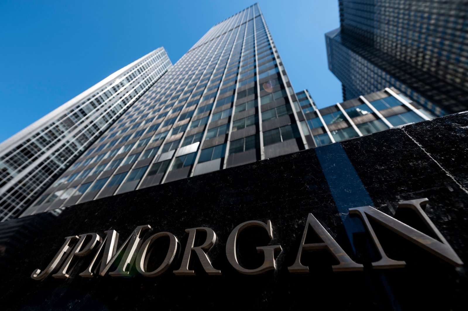 The JPMorgan Chase & Co. World headquarters in New York City, U.S., April 17, 2019. (AFP Photo)