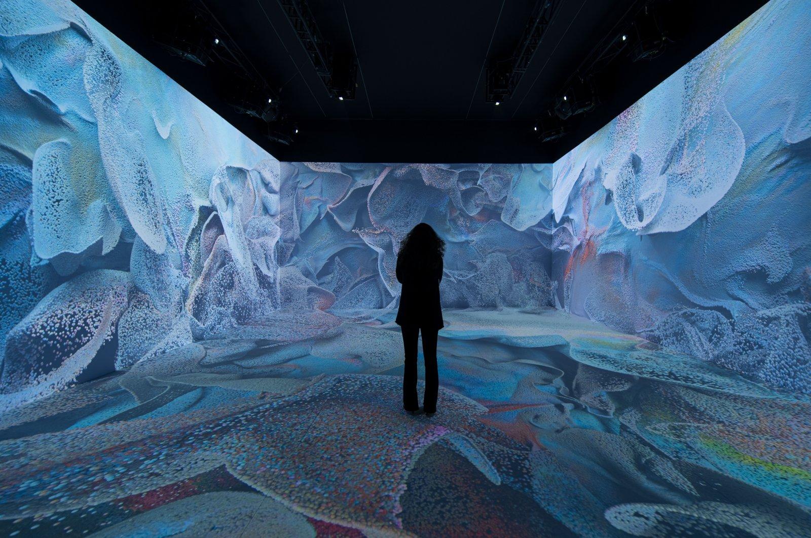 Artistic exploration of space, machine: Refik Anadol in Istanbul