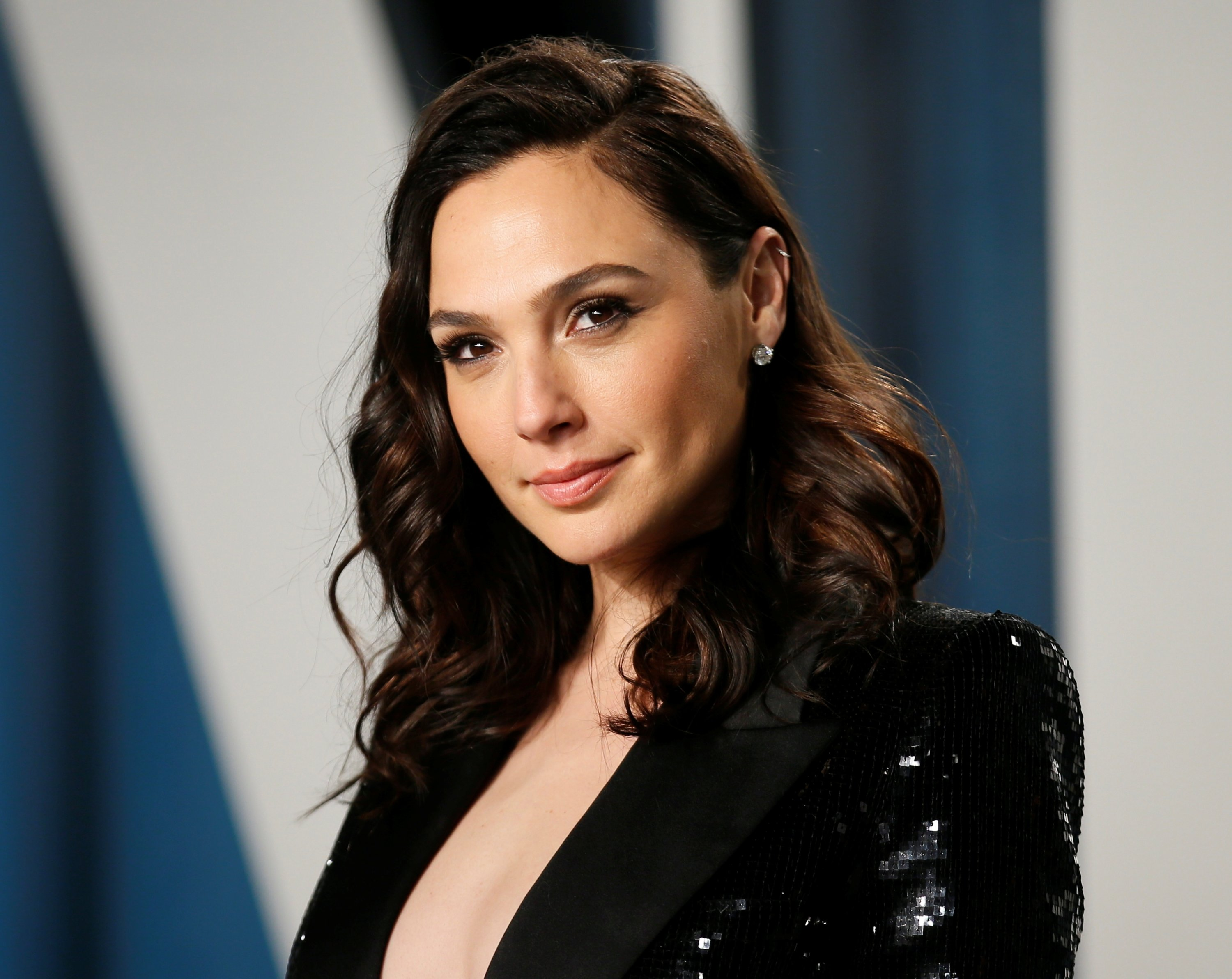 Gal Gadot attends the Vanity Fair Oscar party in Beverly Hills during the 92nd Academy Awards, in Los Angeles, California, U.S., Feb. 9, 2020. (Reuters Photo)