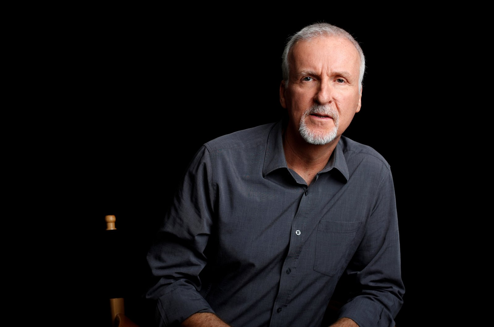 Director James Cameron poses for a portrait in Manhattan Beach, California, April 8, 2014. (Reuters Photo)