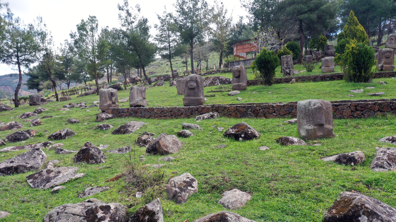 A general view of the Yesemek Open-Air Museumand Sculpture Workshop, Gaziantep, southeastern Turkey, April 21, 2021. (AA Photo)