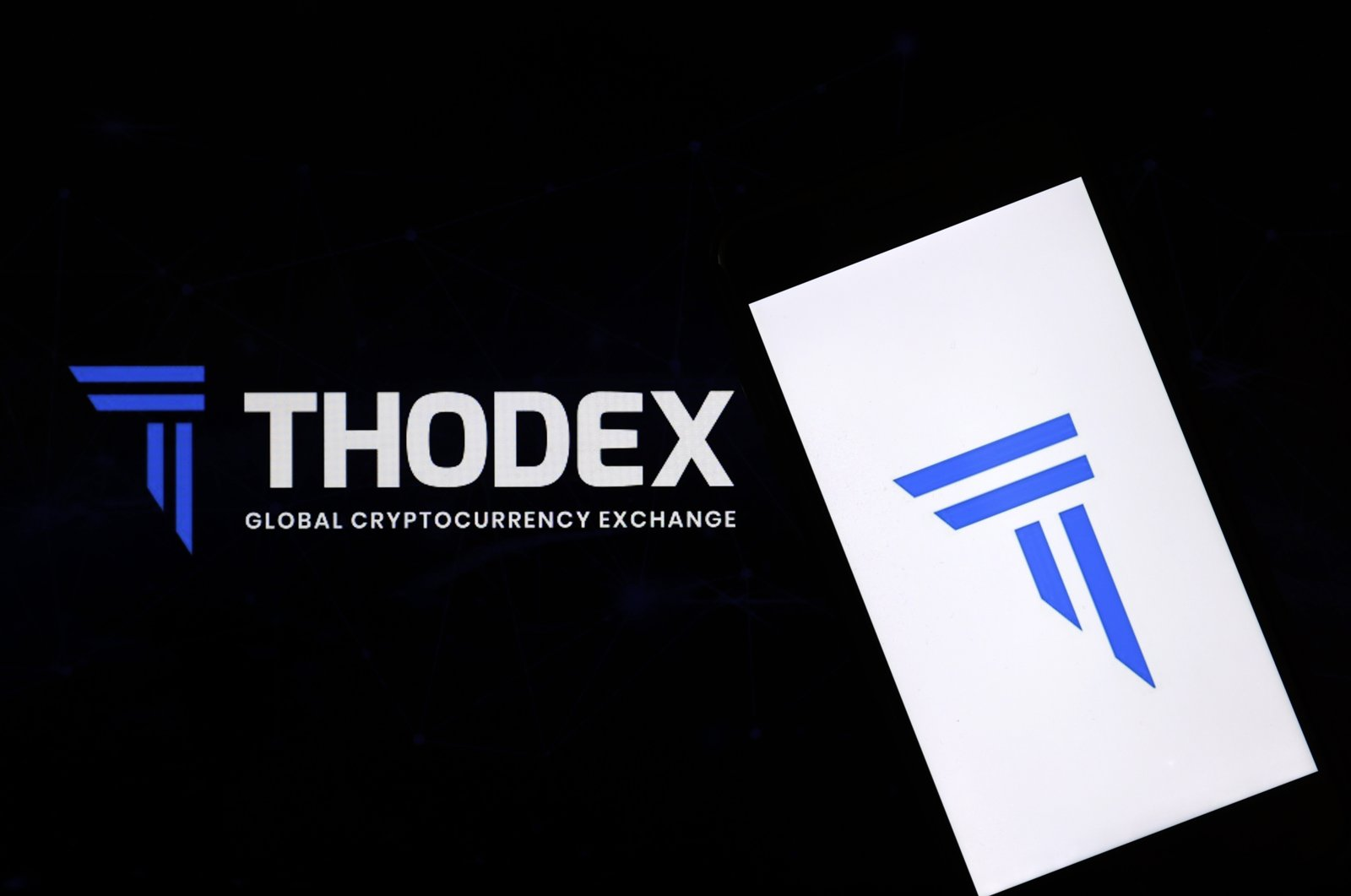 The logo of the Thodex, April 22, 2021. (AA Photo)